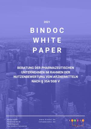Beratung der pharmazeutischen Unternehmen im Rahmen der Nutzenbewertung von Arzneimitteln nach § 35a SBF V